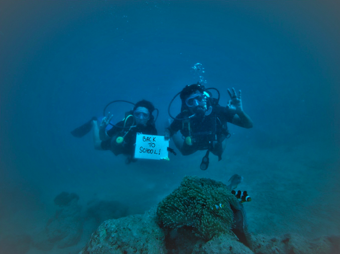 Back to School dive package