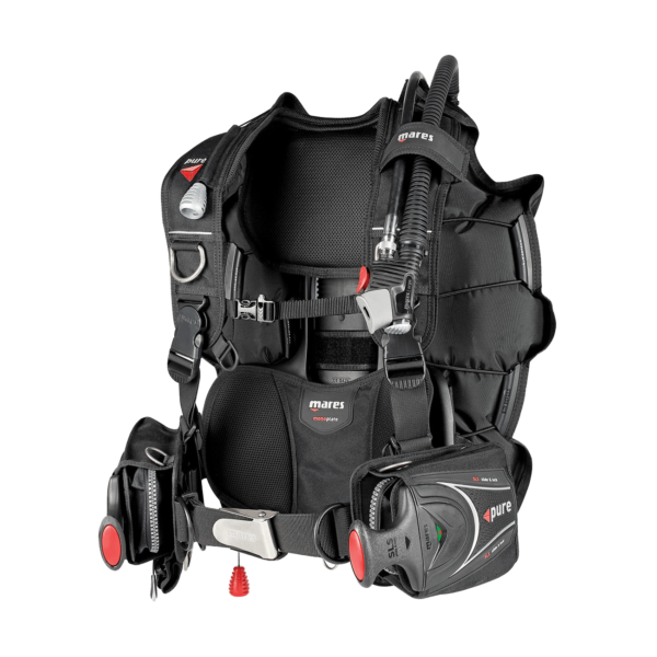 Review Mares Pure SLS BCD