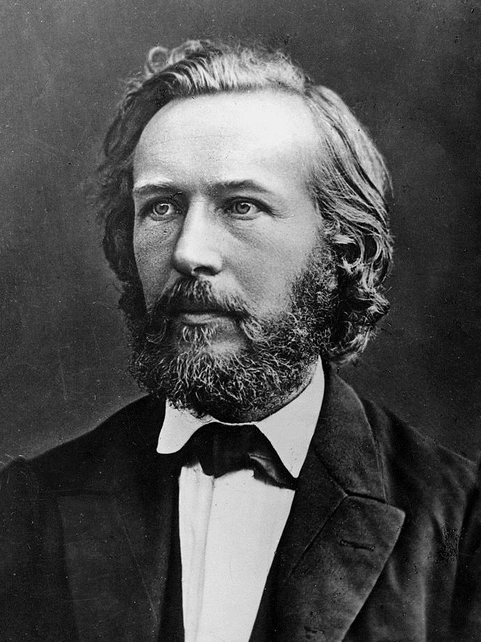 Ernst Haeckel (1834-1919), biologiste allemand. ©MP/leemage  AA095106 dbdocumenti 243 340 300 2868 4021 Scala di grigio