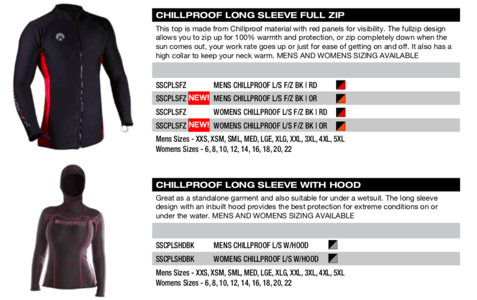Shark Skin chillproof long sleeve