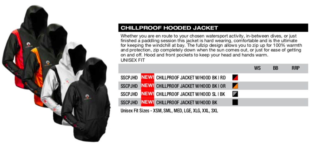 Shark Skin chillproof Hooded Jacket