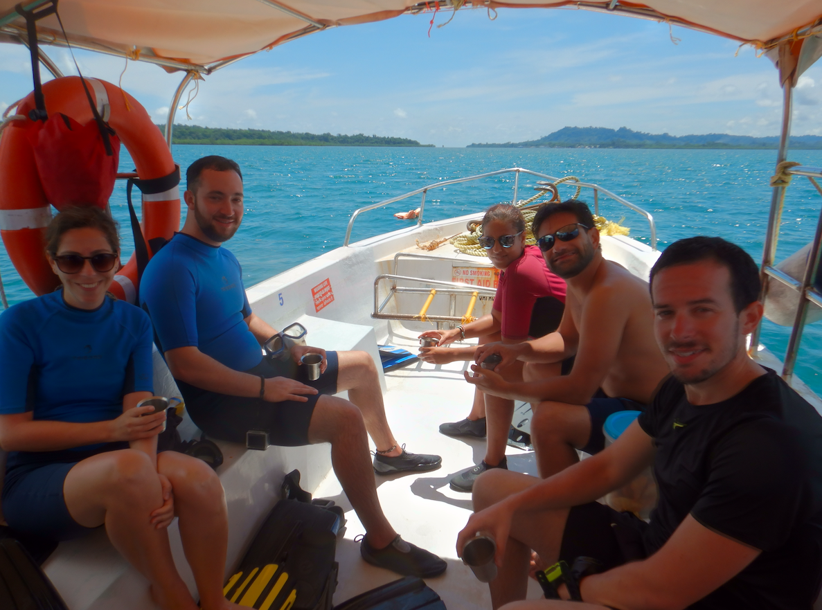 Boat diving in the andaman islands - diveindia