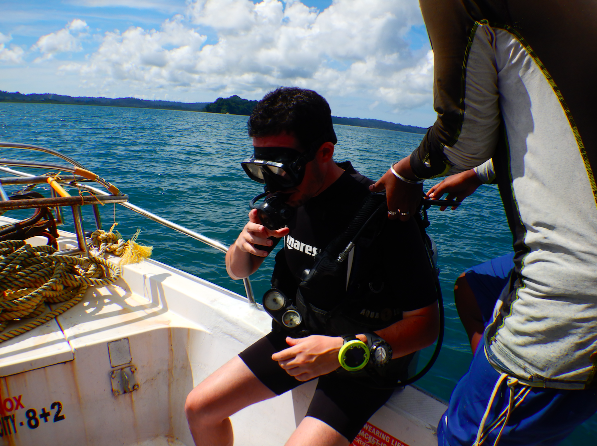 Boat diving resumed in the andaman islands - havelock and neil