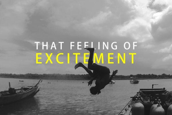 Excitement #letsdiveindia